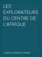 Les Explorateurs du Centre de l'Afrique
