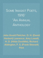 Some Imagist Poets, 1916 An Annual Anthology
