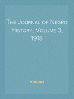 The Journal of Negro History, Volume 3, 1918