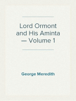 Lord Ormont and His Aminta — Volume 1