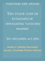 De economische toestand der vrouw Een studie over de economische verhouding tusschen mannen en vrouwen als een factor in de sociale evolutie