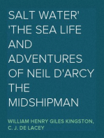Salt Water The Sea Life and Adventures of Neil D'Arcy the Midshipman