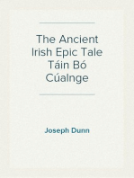 The Ancient Irish Epic Tale Táin Bó Cúalnge