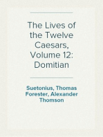 The Lives of the Twelve Caesars, Volume 12