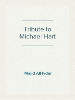 Tribute to Michael Hart