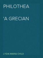 Philothea A Grecian Romance