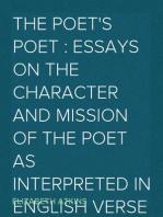 The Poet's Poet