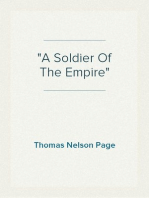 """""""A Soldier Of The Empire"""""""