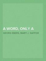 A Word, Only a Word — Volume 02