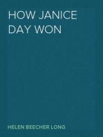 How Janice Day Won