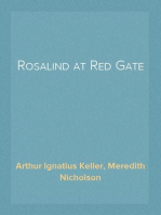 Rosalind at Red Gate