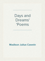 Days and Dreams Poems