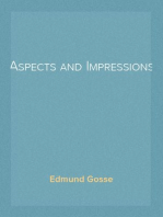 Aspects and Impressions