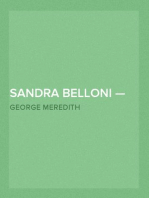 Sandra Belloni — Volume 1