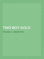 Two Boy Gold Miners; Or, Lost in the Mountains