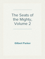 The Seats of the Mighty, Volume 2