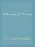 A Summer in a Canyon