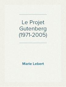 Le Projet Gutenberg (1971-2005)