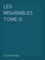 Les misérables Tome III Marius