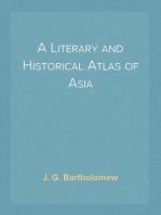 A Literary and Historical Atlas of Asia