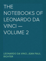 The Notebooks of Leonardo Da Vinci — Volume 2
