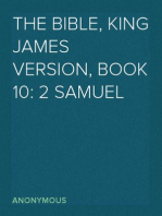 The Bible, King James version, Book 10