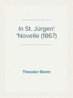 In St. Jürgen Novelle (1867)