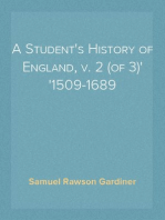 A Student's History of England, v. 2 (of 3) 1509-1689