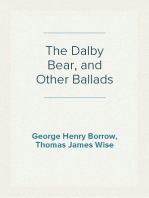 The Dalby Bear, and Other Ballads