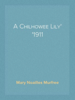 A Chilhowee Lily 1911
