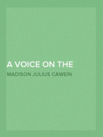 A Voice on the Wind and Other Poems