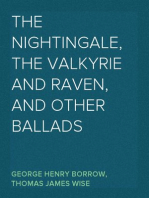 The Nightingale, the Valkyrie and Raven, and Other Ballads