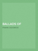 Ballads of Mystery and Miracle and Fyttes of Mirth Popular Ballads of the Olden Times - Second Series