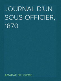 Journal d'un sous-officier, 1870