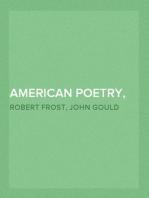 American Poetry, 1922