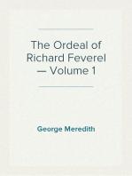 The Ordeal of Richard Feverel — Volume 1