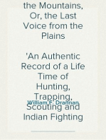 Thirty-One Years on the Plains and in the Mountains, Or, the Last Voice from the Plains