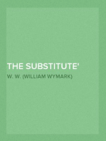 The Substitute Deep Waters, Part 9.