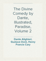The Divine Comedy by Dante, Illustrated, Paradise, Volume 2