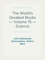 The World's Greatest Books — Volume 15 — Science