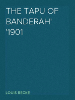 The Tapu Of Banderah 1901