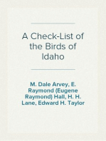 A Check-List of the Birds of Idaho