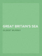 Great Britain's Sea Policy A Reply to an American Critic reprinted from 'The Atlantic Monthly'