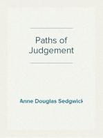 Paths of Judgement