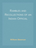 Rambles and Recollections of an Indian Official