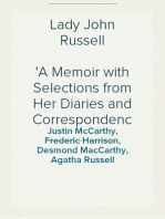 Lady John Russell A Memoir with Selections from Her Diaries and Correspondence