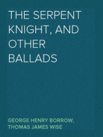 The Serpent Knight, and Other Ballads