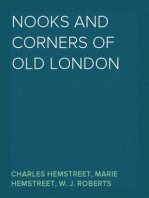 Nooks and Corners of Old London