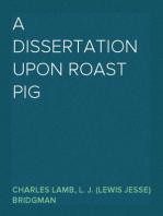 A Dissertation upon Roast Pig
