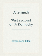 "Aftermath Part second of ""A Kentucky Cardinal"""